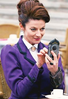 Missy/Master/Michelle Gomez - I want to hate her but she's so stinkin' funny!! (most of the time!)