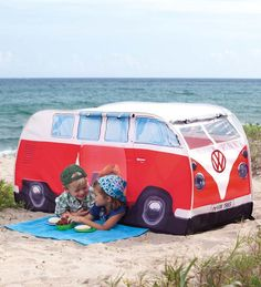 Kid's VW Pop-Up Tent-Red