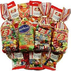 Bean Blast Gift Basket – Jelly Belly — Goody For Me Jelly Belly Flavors, Jelly