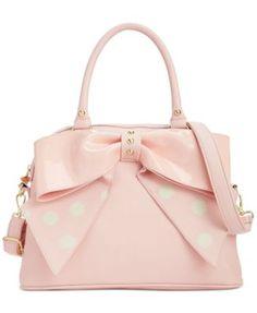 My new purse! Betsey Johnson Macy's Exclusive Dome Satchel | macys.com
