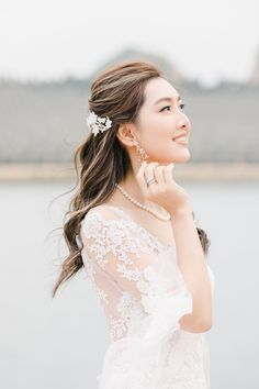 Cecilia & Fung – Engagement | Tomekcheungphotography Wedding Gowns, Engagement, Hair Styles, Lace, Fashion, Homecoming Dresses Straps, Hair Plait Styles, Moda, Bridal Gowns