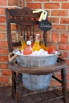 15 Amazing Ideas to Repurpose Old Furniture for Your Home Decor | Do it yourself ideas and projects I think this is just about the cutest thing ever for your BBQ's!