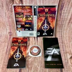 The Lord of the Rings Tactics Sony PSP Strategy Game Complete VGC Gift 🎁 battle Cds For Sale, Strategy Games, Psp, Lord Of The Rings, Sony, Battle, Gifts, Presents, The Lord Of The Rings