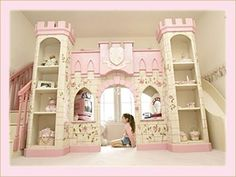 Mommy Mouseketeer: Disney Decor : Fairy Tale Beds and Cribs Oh, I would sleep in this bed no matter how old I was!!