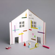 The Dollhouse drawing and colouring book from Little Lulubel