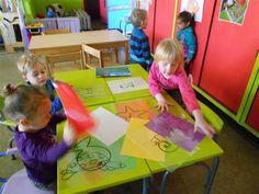 """Unescoschool Sterrenbos Hamme - thema """"music maestro """" en """" klein wit visje"""""""