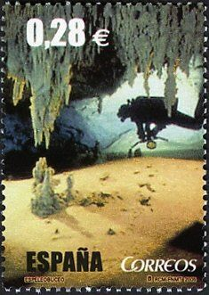 Cave Diving, Science And Nature, Geology, Postage Stamps, Astronomy, Country, Pictures, Nature, Stamps
