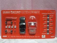 Kyosho 1:64 scale MINI CAR KIT Ferrari 575M Maranello 2002 Dydo from Japan