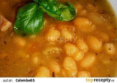 """""""Fazolová blča z Oltecu"""" = (Fazolová polévka ze Starého Brna) Chana Masala, Ethnic Recipes, Food, Meal, Hoods, Eten, Meals"""