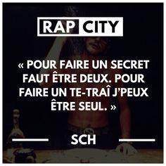 #punchline #sch #rap #rapfrancais #quotes #citations #citation Clash Rap, Best Punchlines, Rap City, Father Quotes, Motivational Quotes, Feelings, Universe, Geek, Graphics