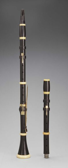 Clarinet in A and B-flat, c.1794. Made by Michel Amlingue, Paris, France.