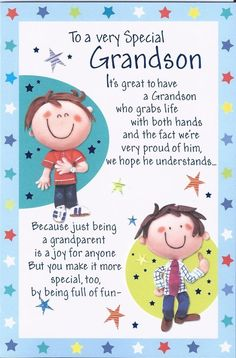 , Grandson Happy Birthday Greetings Card Boy Wordy Older Teenage Lovely Verse for sale Happy Birthday Wife Quotes, Grandson Birthday Quotes, Inspirational Happy Birthday Quotes, Grandson Quotes, Birthday Wishes For Kids, Happy Birthday Wishes Cards, Birthday Poems, Birthday Blessings, Happy Birthday Images