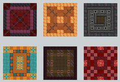 Made a few more patterns today. : DetailCraft Minecraft Floor Designs, Minecraft Pattern, Minecraft Blocks, Minecraft House Tutorials, Minecraft Room, Minecraft Construction, Minecraft Tips, Minecraft Tutorial, Minecraft Creations