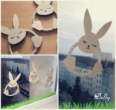 Wielkanocne zające ze sznurka / Rope Easter Bunnies DIY