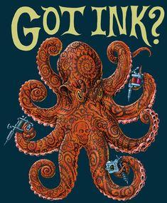 GOT INK? - HOODED SWEATSHIRT. $30, i love this artist <3