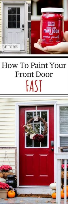 Add A Kick Plate To Dress Up The Front Door Making My Home