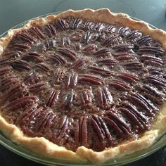 "Chocolate Bourbon Pecan Pie | ""Made this for Thanksgiving and Christmas this year. Amazing! Super popular!"""