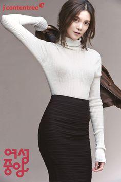 Cha Ye-ryun // Women's Chosun // September 2013