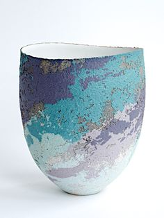 Vessel - scooped rim by Clare Conrad