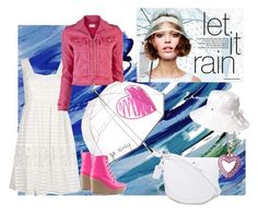 Rainy Summer by koolkolourz on Polyvore featuring polyvore fashion style Paul Smith Mother Ego and Greed McQ by Alexander McQueen Tarina Tarantino Felix Rey Helen Kaminski clothing
