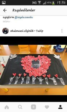 Preschool Crafts, Diy Crafts, Remembrance Day, Pre School, Interior Design Living Room, Diy Bedroom Decor, Montessori, Valentine's Day Diy, School