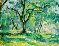 Paul Cezanne Most Famous Works | The Forest- by Paul Cezanne
