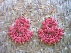Crochet Jewelry Patterns Rings Beads New Ideas Crochet Rings, Crochet Bracelet, Crochet Art, Crochet Crafts, Yarn Crafts, Crochet Flowers, Crochet Projects, Crochet Earrings Pattern, Crochet Jewelry Patterns