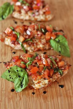 Bruschetta BBQ Pork Chops- Kitchen Trials
