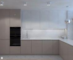 Kuchnia styl Minimalistyczny - zdjęcie od LIVING BOX - Kuchnia - Styl Minimalistyczny - LIVING BOX Küchen Design, Interior Design, Design Interiors, Kitchen Dinning, Sweet Home, Kitchen Cabinets, Room, House, Kitchen Ideas
