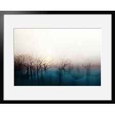 Tanzanite by Iris Framed Art Print