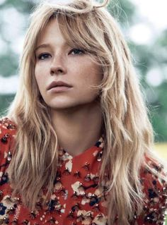 Some new photos of sexy blonde Haley Bennett. Haley Bennett was born in Sunny Florida in January The acting was so fascinated with Haley Bennett that she Hairstyles With Bangs, Pretty Hairstyles, Natural Hairstyles, Formal Hairstyles, Layered Hairstyles, Fringe Hairstyles, Hairstyles Haircuts, Vintage Hairstyles, Hair Day