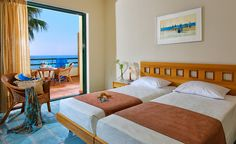 Superior family rooms in Crete, in Malia town, by Sirens hotels resort. Spacious rooms ideal for up to 4 people, all fully equipped. Family Rooms, Bed, Furniture, Home Decor, Decoration Home, Stream Bed, Room Decor, Family Room