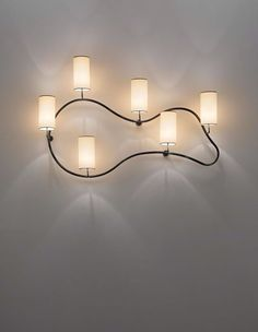 JEAN ROYÈRE  'Freeform' wall light, 1950s