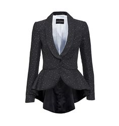 Armani - Schwarzer Blazer mit weissen Punkten Blazer, Must Haves, My Style, Jackets, Stuff To Buy, Design, Women, Fashion, Black Man