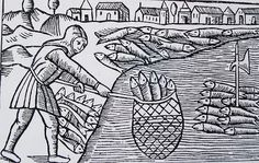 In the famous Historia de Gentibus Septentrionalibus (History of the Northern Peoples) by Olaus Magnus (published in 1555) the importance of the herring trade in Øresund was illustrated by this picture.