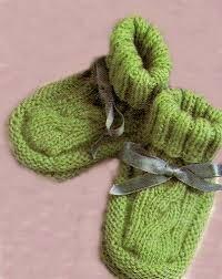 Bildergebnis für babyschuhe stricken anleitung kostenlos