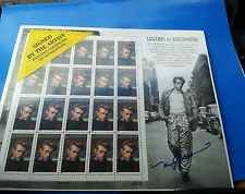 US Scott #3082, M/S 1996 James Dean 32c FVF MNH *Signed by Artist