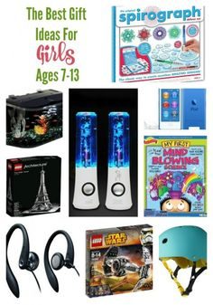 All of The Best Gift Ideas for Girls Age 7-13!