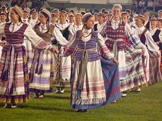 Lithuanian Folk Costumes