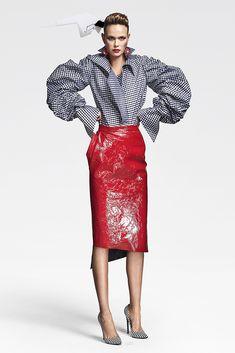 Couture Fall 2016 Trend: Puff Sleeves | RVDK/Ronald van der Kemp Demi-Couture Fall 2016 [Photo: Marijke Aerden]
