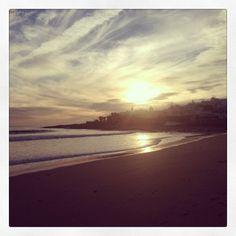 Sunset on Praia da Luz #portugal #algarve #luz