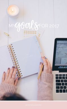 I've set myself some personal and blog goals for 2017 with things I want to achieve and ways to better myself in the new year. Click to read more.