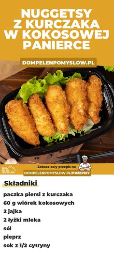 Good Food, Yummy Food, Tasty, Polish Recipes, Kfc, Herbal Remedies, Cooking Time, Great Recipes, Easy Meals