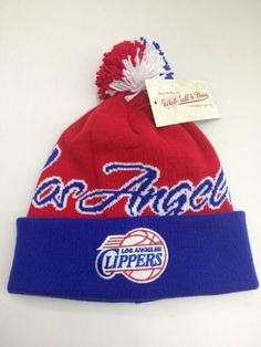 Mitchell & Ness cuffed pom Knit beanie National City NBA Los Angeles Clippers by Mitchell & Ness. $32.99
