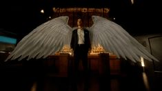 Bildergebnis für Tom ellis Lucifer with wings Lucifer Wings, Lucifer Gif, Tom Ellis Lucifer, Neil Gaiman, Gta V 5, Supernatural, Dc Comics Characters, Lucifer Characters, Morning Star