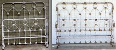 Great straight line king conversion w/ Distressed Crackle finish Wine Rack, It Is Finished, Outdoor Structures, Storage, Bedroom Ideas, King, Furniture, Home Decor, Purse Storage