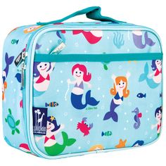Spice up lunchtime with a Wildkin Lunch Box. Our durable, easy-to-clean, fabric lunch boxes can stand up to just about anything – except cafeteria food - blech! The roomy, insulated interior, and stur