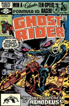 Cover for Ghost Rider (Marvel, 1973 series) #64 . January 1982