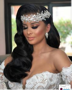 Black Brides Hairstyles, Wedding Hairstyles With Veil, Down Hairstyles, Beautiful Hairstyles, Updo Hairstyle, Prom Hairstyles, Celebrity Hairstyles, Natural Hairstyles, Wedding Headband