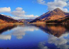 Loch Leven, near Fort William. Scotland by Pete Rose